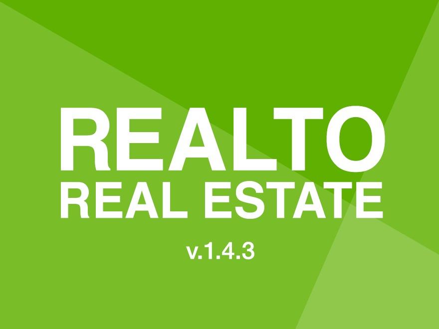 RealTo (shared on wplocker.com) real estate WordPress theme