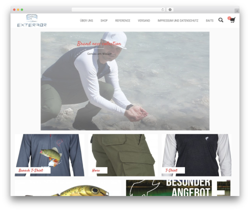 Shopera WordPress theme - fishingenjoy.de