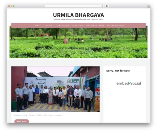 Stride lite WordPress theme free download - urmilabhargava.com