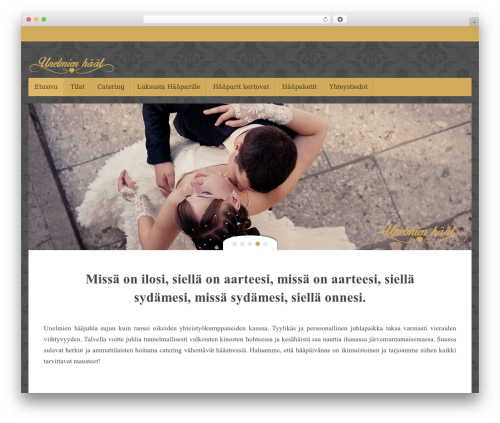 Tempera free WordPress theme - unelmienhaat.fi