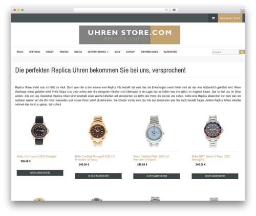 Template WordPress template - uhren-store.com