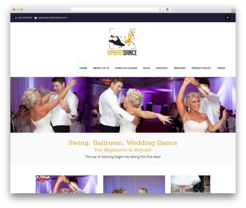 The Next WordPress theme download - upbeatdancestudio.com