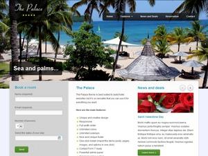 The Palace best hotel WordPress theme