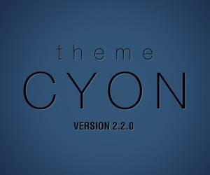 Theme Cyon WP template