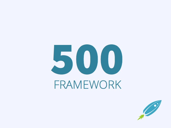 WordPress theme 500 Framework