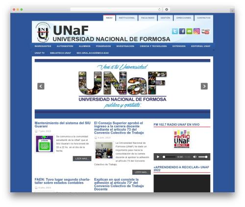 WP theme Learner - unf.edu.ar