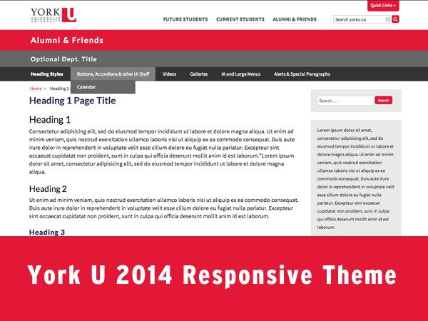 York Template 2014 premium WordPress theme