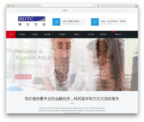 Adviser WordPress theme - bdtc.com.au