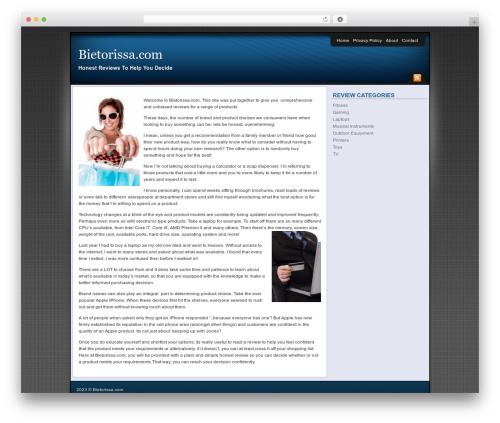 Affiliate Internet Marketing theme premium WordPress theme - bietorissa.com