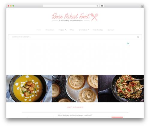 Betheme WordPress theme - bearnakedfood.com