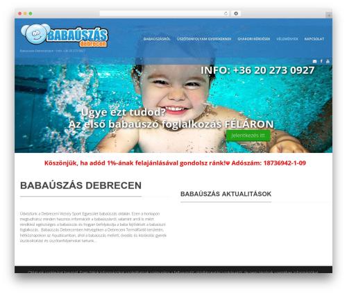 Blaszok premium WordPress theme - babauszas-debrecen.hu