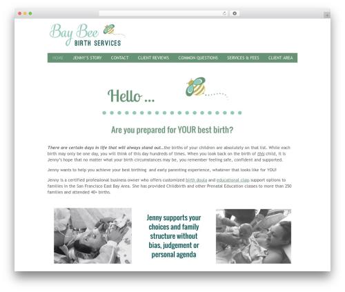 Free WordPress WP Simple Anchors Links plugin - baybeebirthservices.com