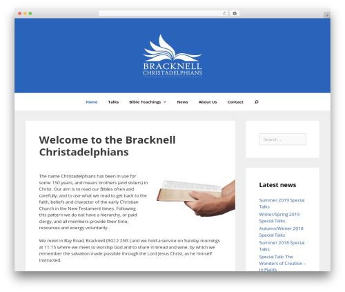 GeneratePress WordPress template free - bibleinbracknell.co.uk