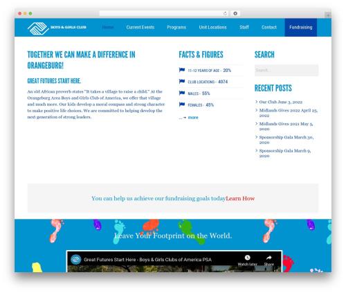 Kause Update best WordPress template - bgcorangeburg.com
