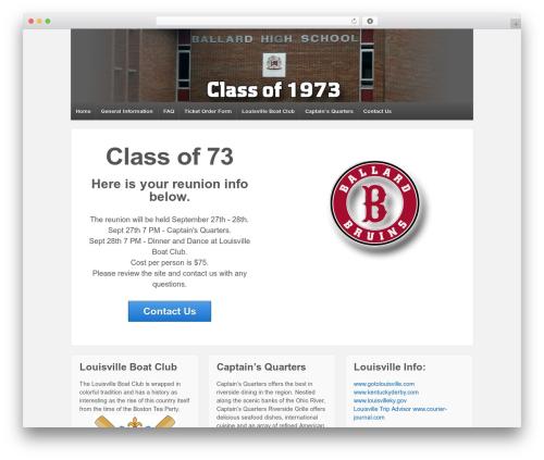 Theme WordPress Responsive - ballard73.com