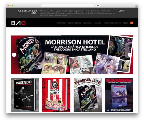 WordPress theme System - baobilbao.com