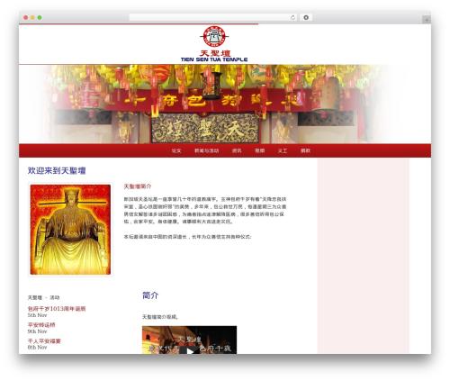 WP theme TST - baogong.com.sg