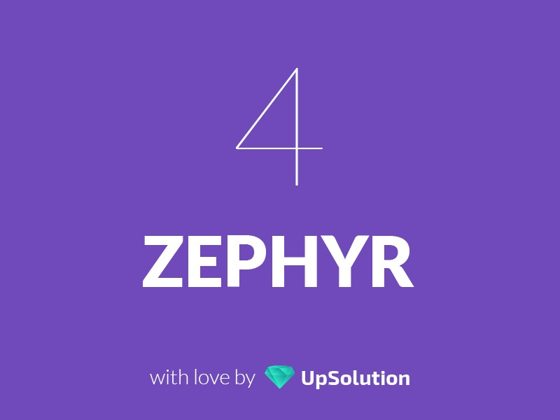 Zephyr best WordPress template