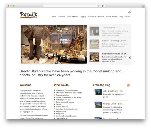 Best WordPress template Lumin - banditstudio.com