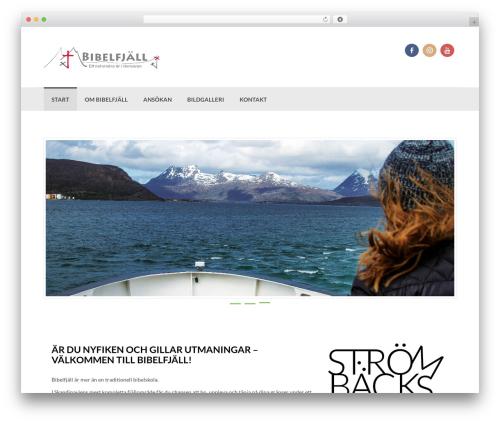 Coller theme WordPress free - bibelfjall.se