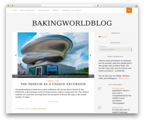 Florence top WordPress theme - backweltblog.com