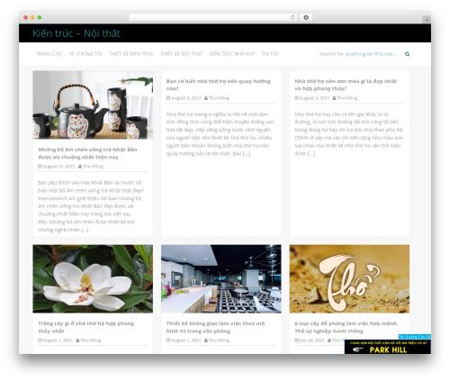 Inkness template WordPress free - bacsyvietnam.com