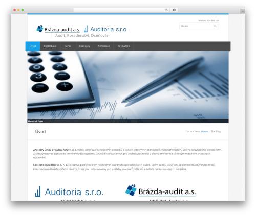 Nevia (shared on wplocker.com) best WordPress template - brazda-audit.cz