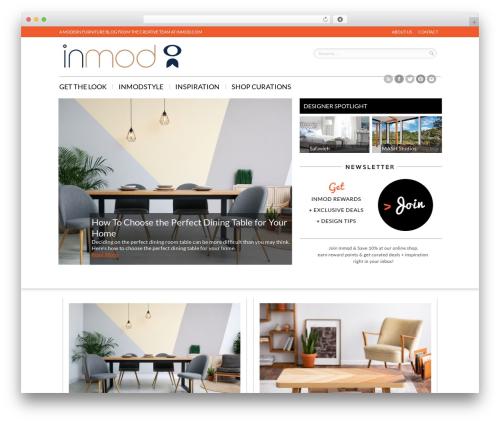 Remal WordPress theme - blog.inmod.com