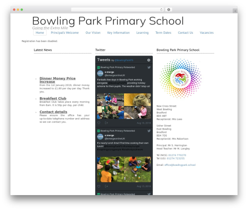 Free WordPress Custom Banners plugin - bowlingparkprimary.net/wp-signup.php?new=6lc