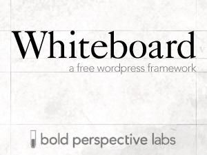 WordPress template Whiteboard