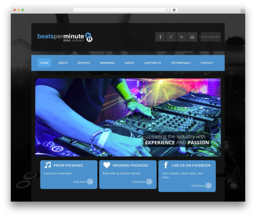 WordPress theme K-BOOM Child - beatsperminute.ca