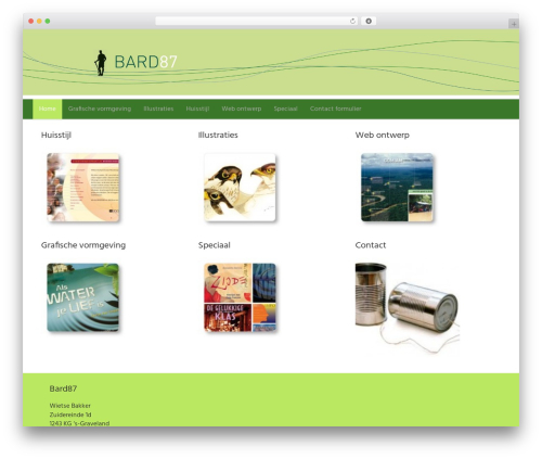 Best WordPress theme Dynamik-Gen - bard87.nl