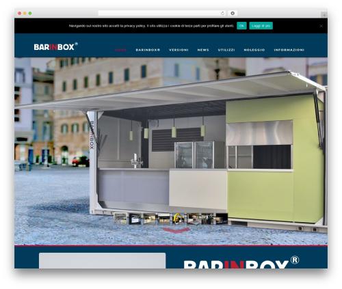 Best WordPress theme X - barinbox.it