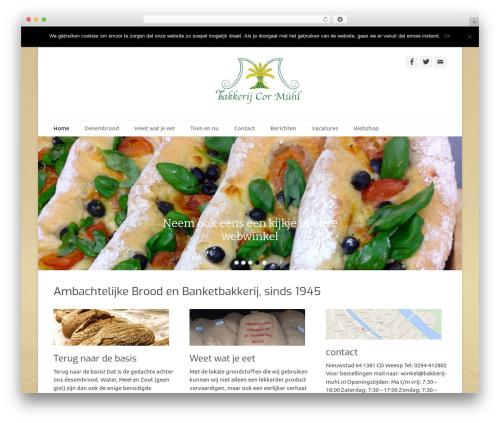 Catch Base Pro theme WordPress - bakkerij-muhl.nl