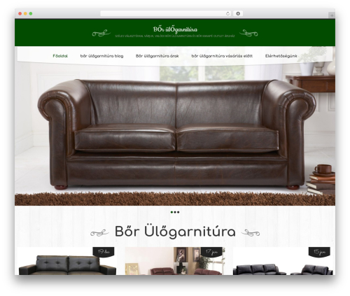 cherry premium WordPress theme - borulogarnitura.com