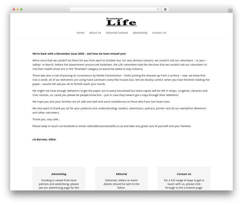 Divi WordPress news theme - braunstone-life.co.uk