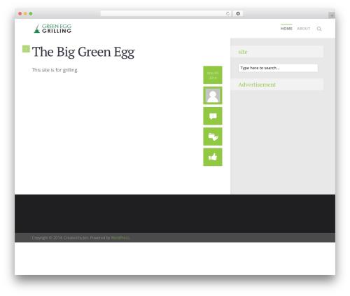 Free WordPress Meks Smart Social Widget plugin - biggreenegggrilling.com