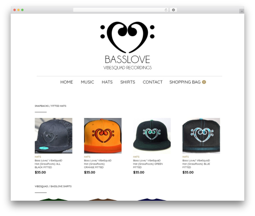 The Retailer theme WordPress - basslove.com
