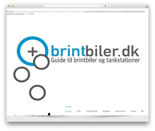 Avada top WordPress theme - brintbiler.dk