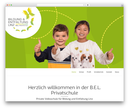 Best WordPress template Omega. - bel-privatschule.at