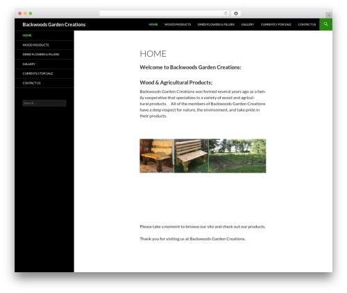 Twenty Fourteen theme free download - backwoodsgarden.com