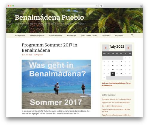 Twenty Thirteen WordPress template free download - benalmadena-pueblo.de