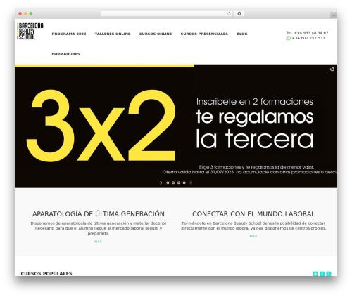WordPress vibe-course-module plugin - barcelonabeautyschool.es