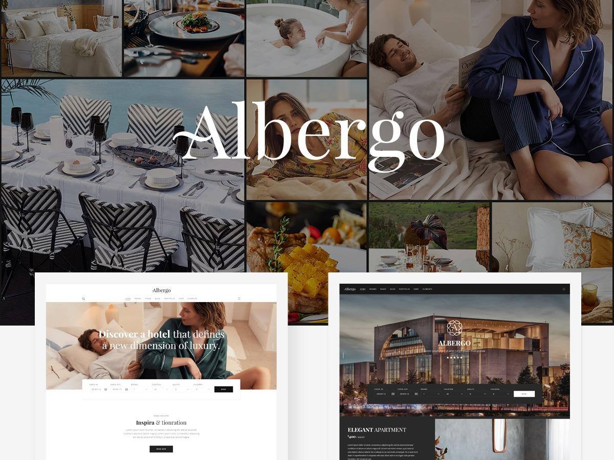 Albergo best hotel WordPress theme