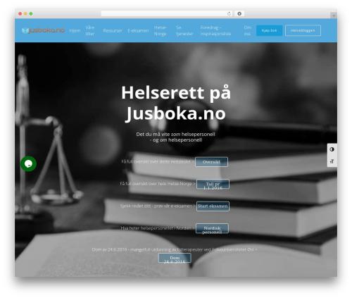 Free WordPress Slick Sitemap plugin - jusboka.no