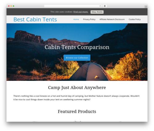 Thesis WP theme - bestcabintents.com