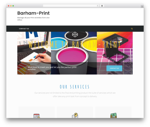 timagazine best WordPress magazine theme - barham-print.co.uk