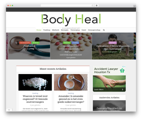 Free WordPress Meks Smart Social Widget plugin - bodyheal.nl
