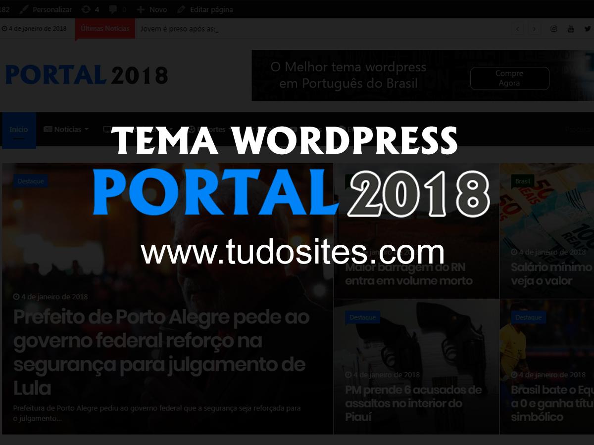 Portal2018 WordPress blog theme