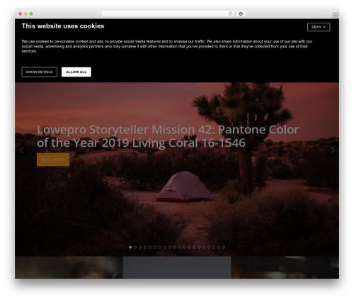 Salient WordPress news template - blog.lowepro.com